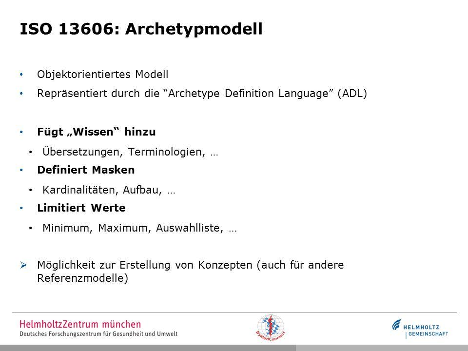 ISO 13606: LEGO Analogie Wissen Strukturen