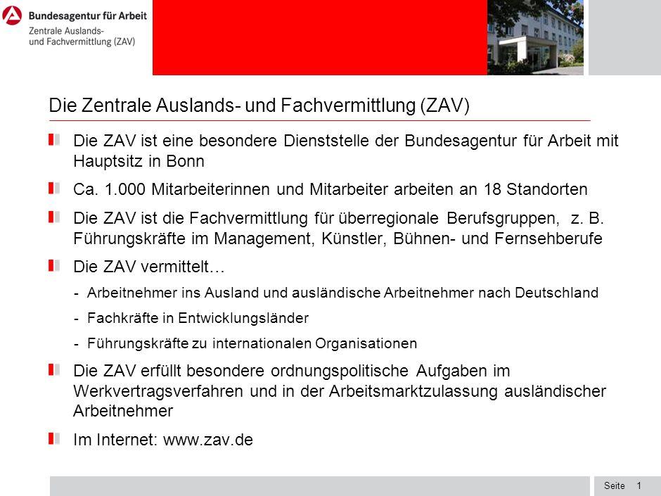 Seite Dienstleistungsfreiheit Die ZAV bietet bulgarischen Unternehmen an, anhand von aussagekräftigen Unterlagen zu prüfen, ob es sich um Arbeiten im dienstleistungsfreien Bereich handelt.