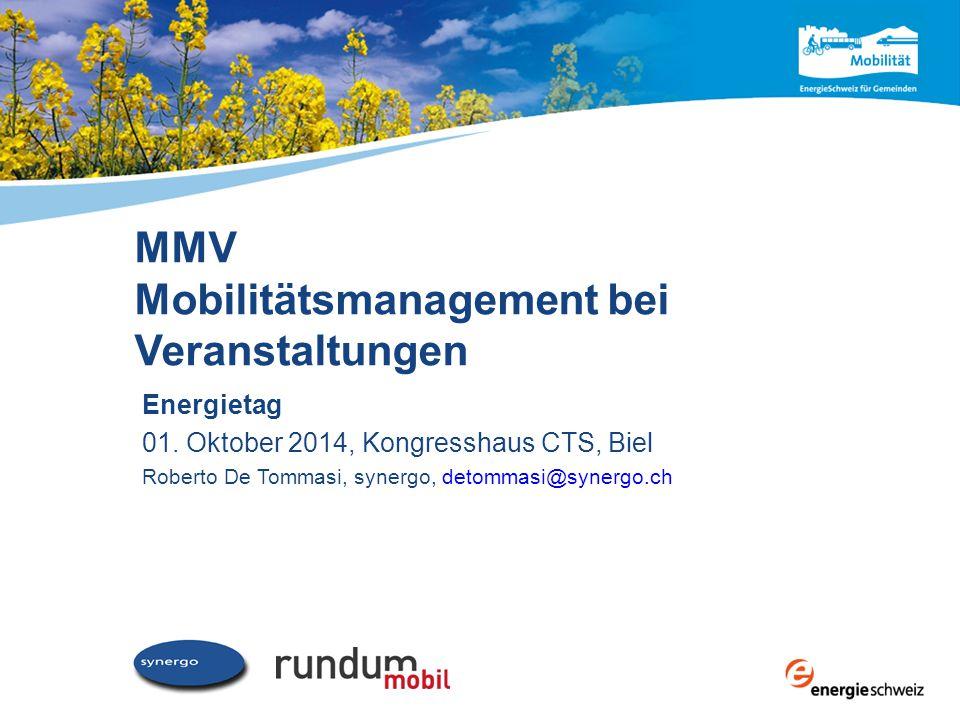 MMV Mobilitätsmanagement bei Veranstaltungen Energietag 01.