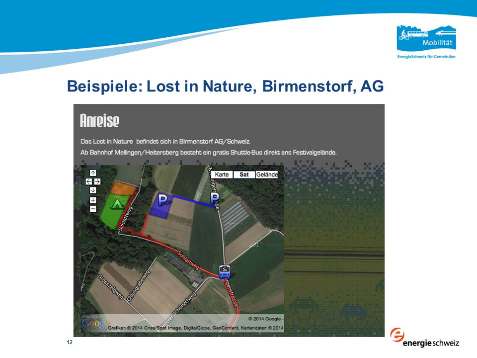 Beispiele: Lost in Nature, Birmenstorf, AG 12