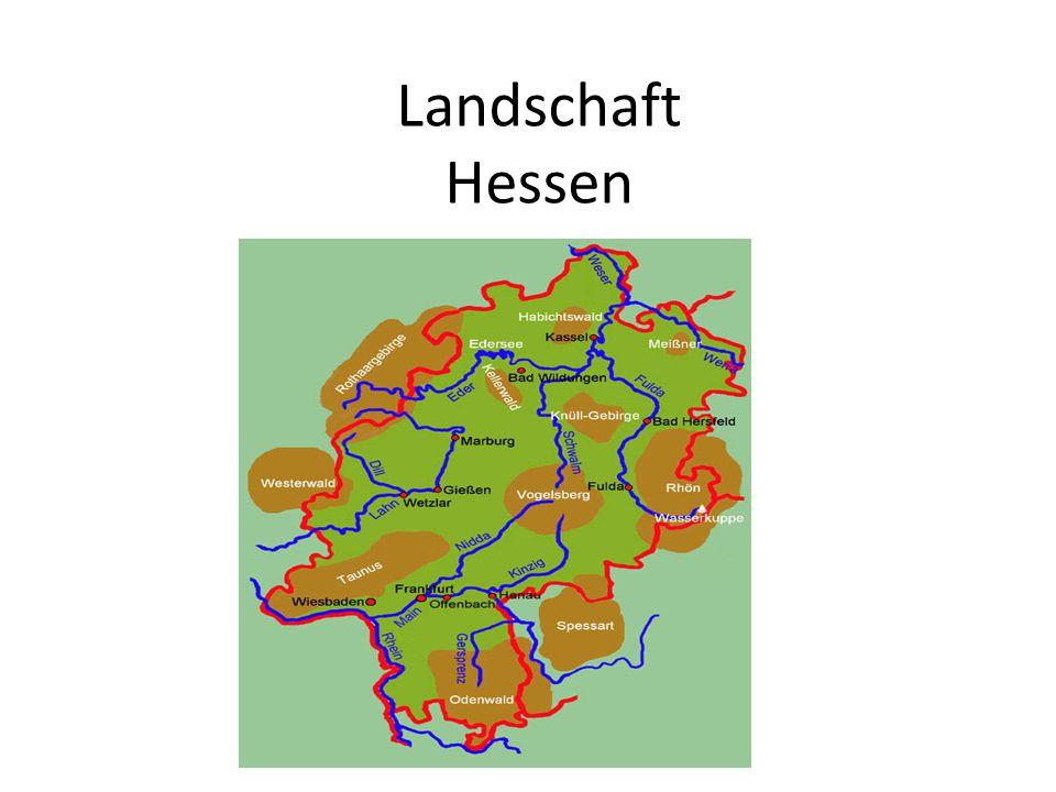 Landschaft Hessen