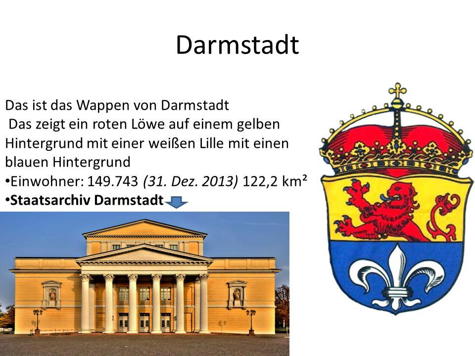Frankfurt Das ist das Wappen von Frankfurt Einwohner: 701.350 (31.