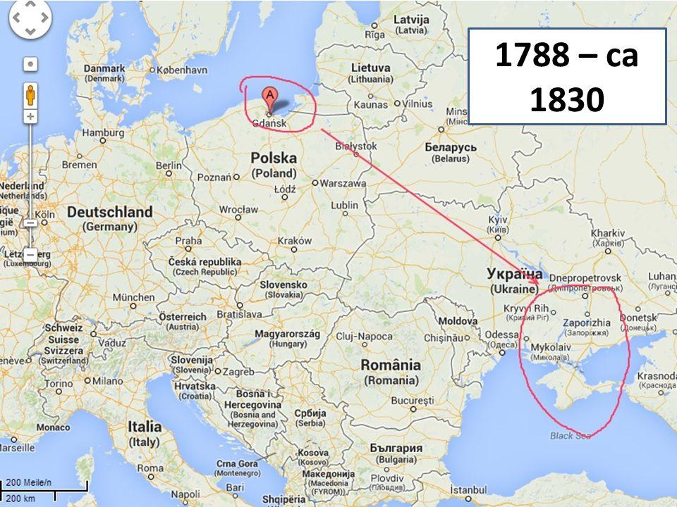 1788 – ca 1830