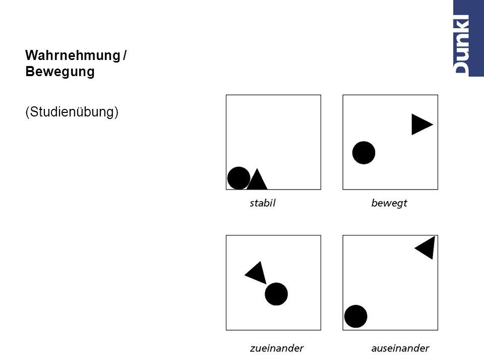 Wahrnehmung / Zusammengehörigkeit