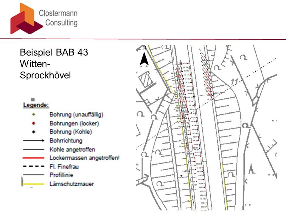 Beispiel BAB 43 Witten- Sprockhövel