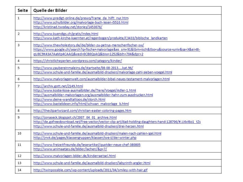 SeiteQuelle der Bilder 1http://www.predigt-online.de/prewo/frame_da_hilft_nur.htm http://www.schulbilder.org/malvorlage-buch-lesen-i5510.html http://k