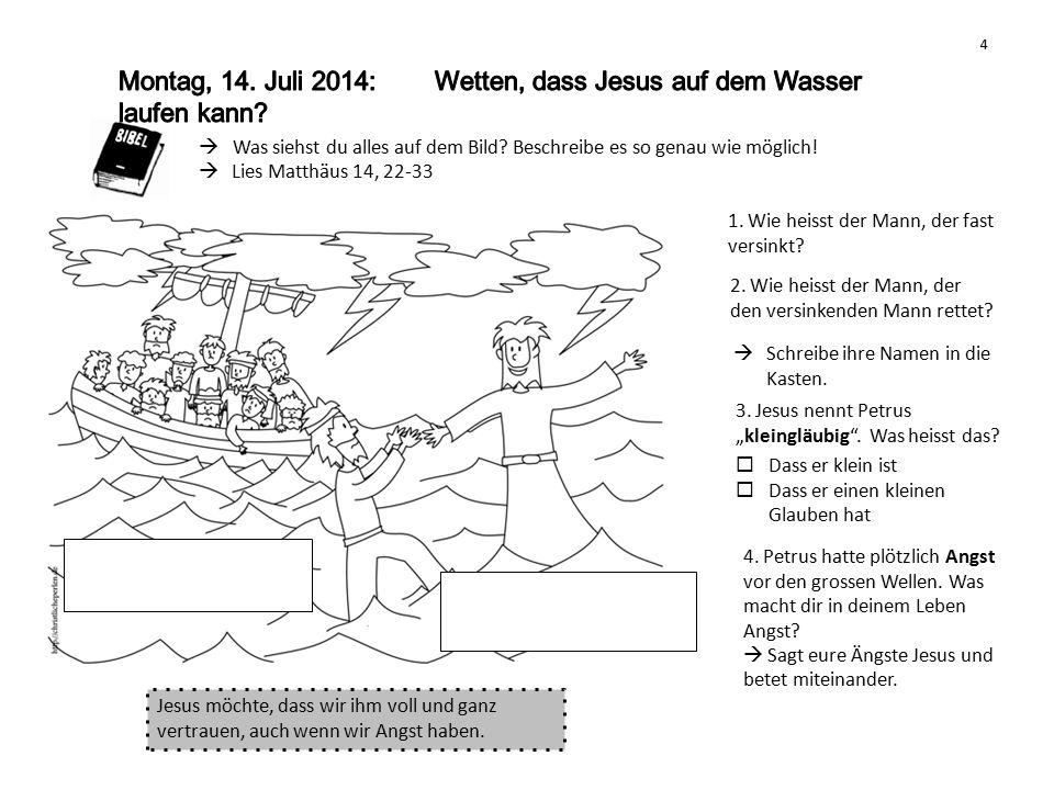 Lies Matthäus 18, 21-22 (bis 35) 1.Welche Zahl kommt in der Geschichte vor.