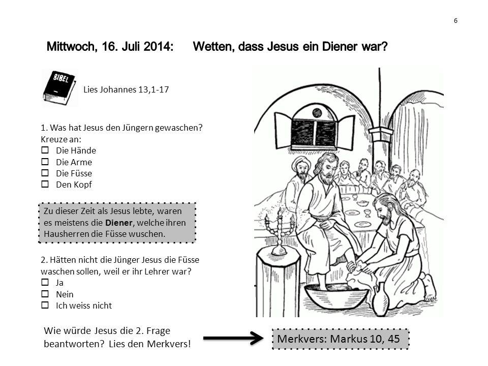 Lies Markus 14, 27-31 und Lukas 22, 54-62 1.Welches Tier kommt in der Geschichte vor.