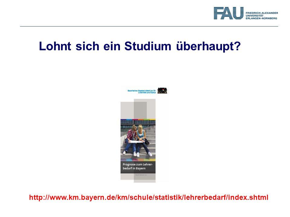 http://www.km.bayern.de/km/schule/statistik/lehrerbedarf/index.shtml Lohnt sich ein Studium überhaupt?