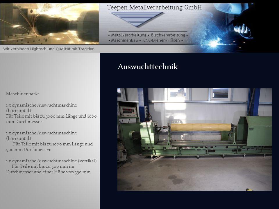 Maschinenpark: Bohrwerk X-Achse = 3000mm Y-Achse = 1500mm Z-Achse = 1000mm Spindel Ø100mm Tisch 1500mmx1200mm bis zu 7to. Bohrwerksarbeit