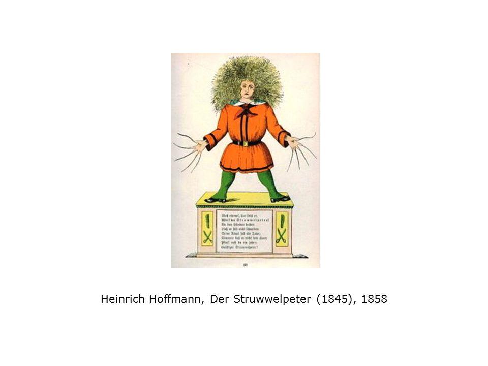 Heinrich Hoffmann, Der Struwwelpeter (1845), 1858
