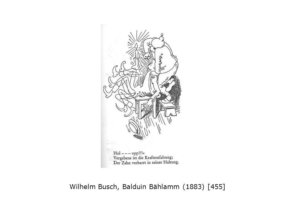 Wilhelm Busch, Der Virtuos (1864)