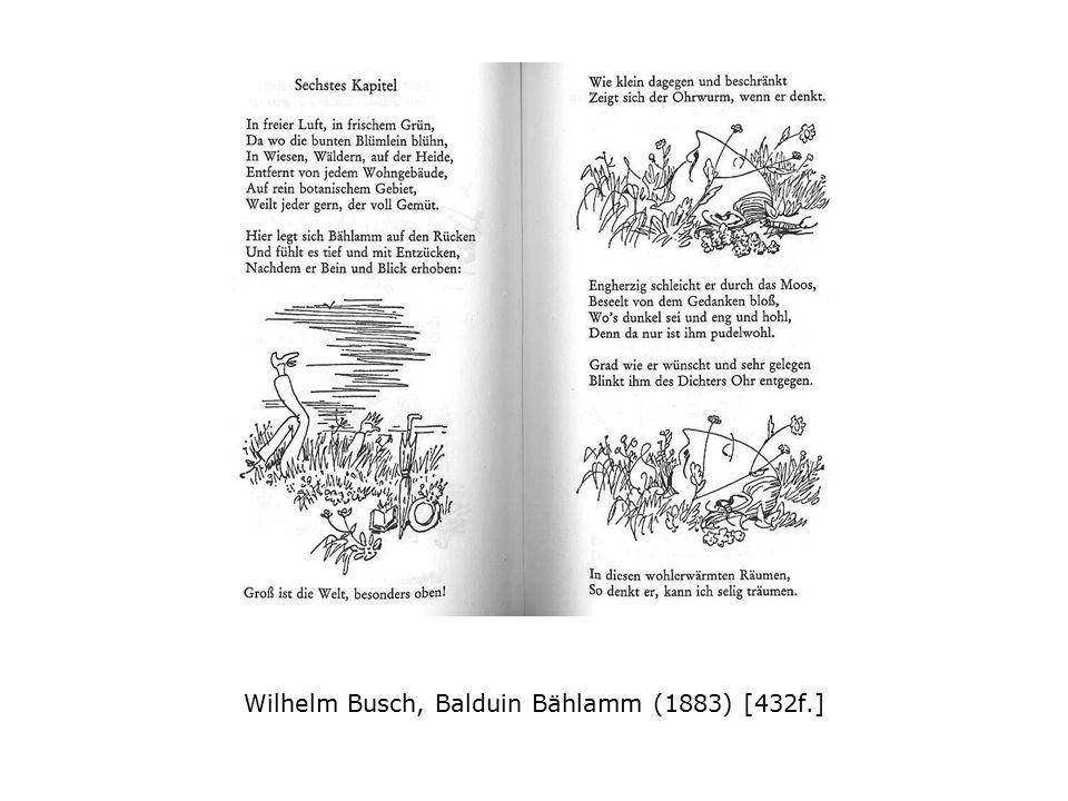 Wilhelm Busch, Balduin Bählamm (1883) [432f.]