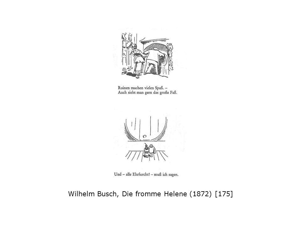 Wilhelm Busch, Die fromme Helene (1872) [175]