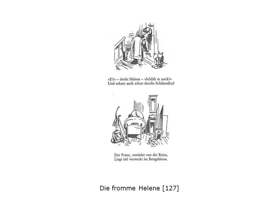 Wilhelm Busch, Ein Abenteuer in der Neujahrsnacht, 1864