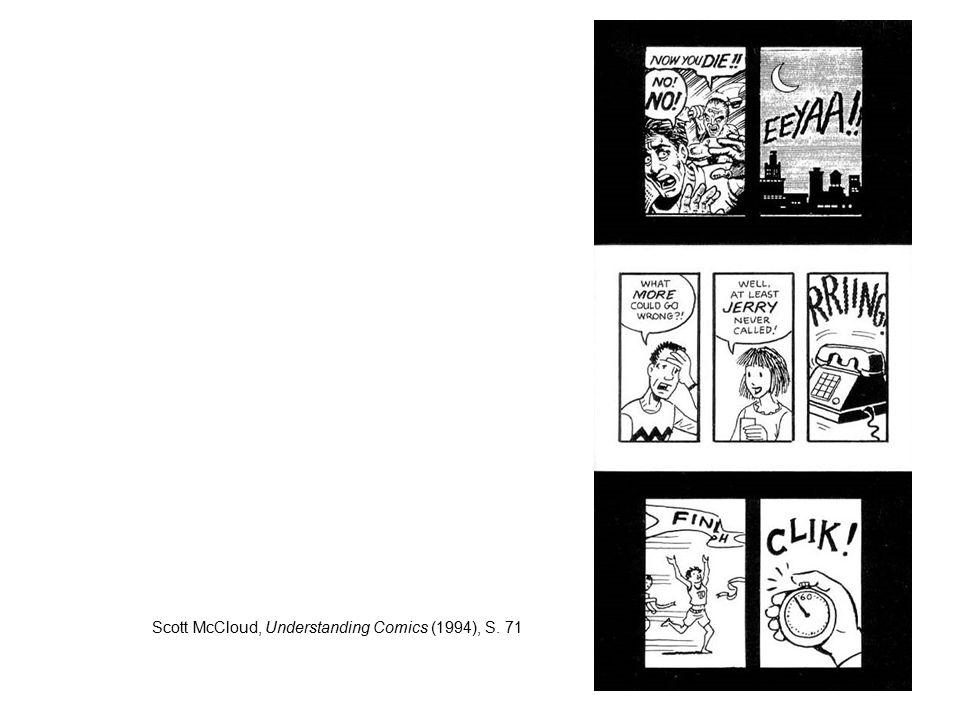 Scott McCloud, Understanding Comics (1994), S. 71