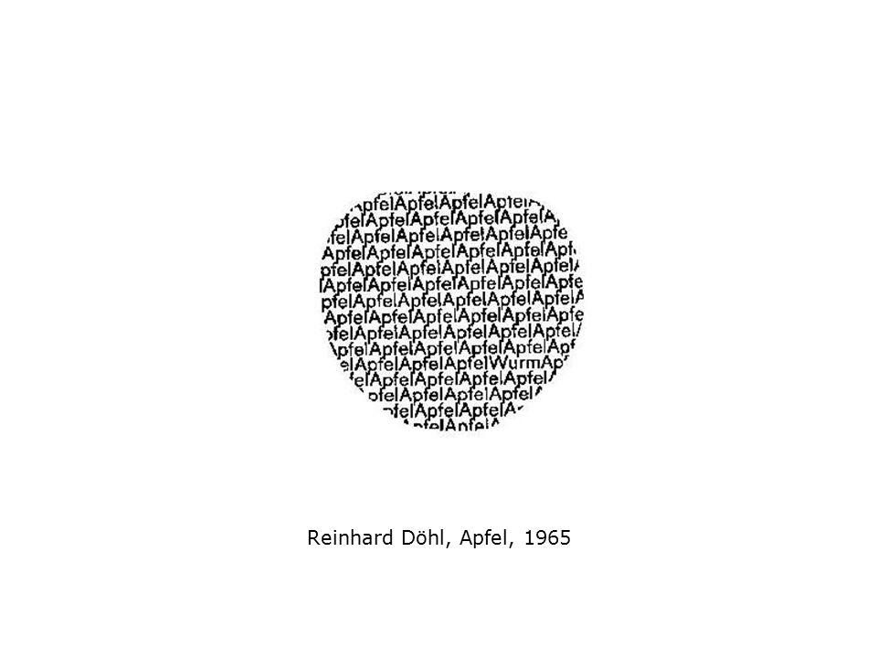 Visuelle Poesie, das ist die wechselseitige Beziehung von bildender Kunst und Literatur, von Bild und Text, von figurativen und semantischen Elementen, die Verbindung beider Kunstformen in einem intermedialen Raum.
