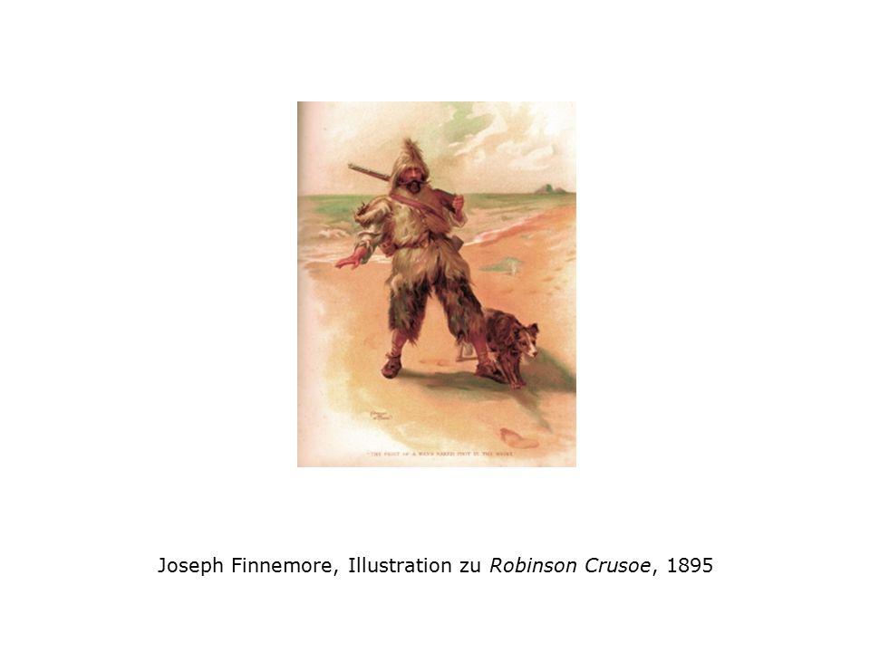 N. C. Wyeth, Illustration zu Robinson Crusoe, 1920