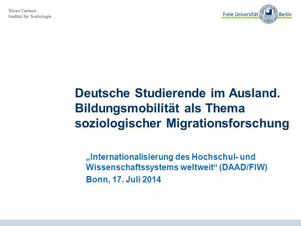 2 Titel, Datum Gliederung I.Bildungsmobilität – ein Thema für die Migrationsforschung.