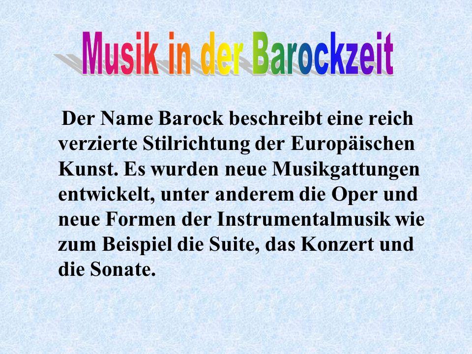 Air in D-Dur Toccata und Fuge in d-Moll für Orgel Invention in C-Dur