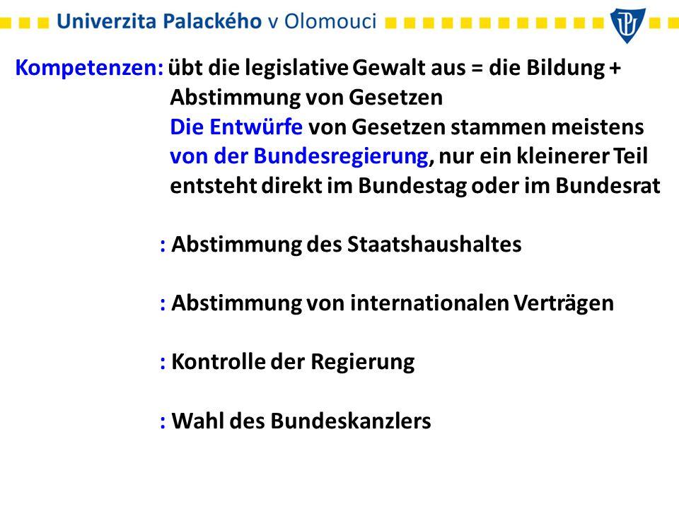 : Beteiligung an der Wahl des Bundespräsidenten und der Richter : Kontrolle vom Bundeswehreinsatz