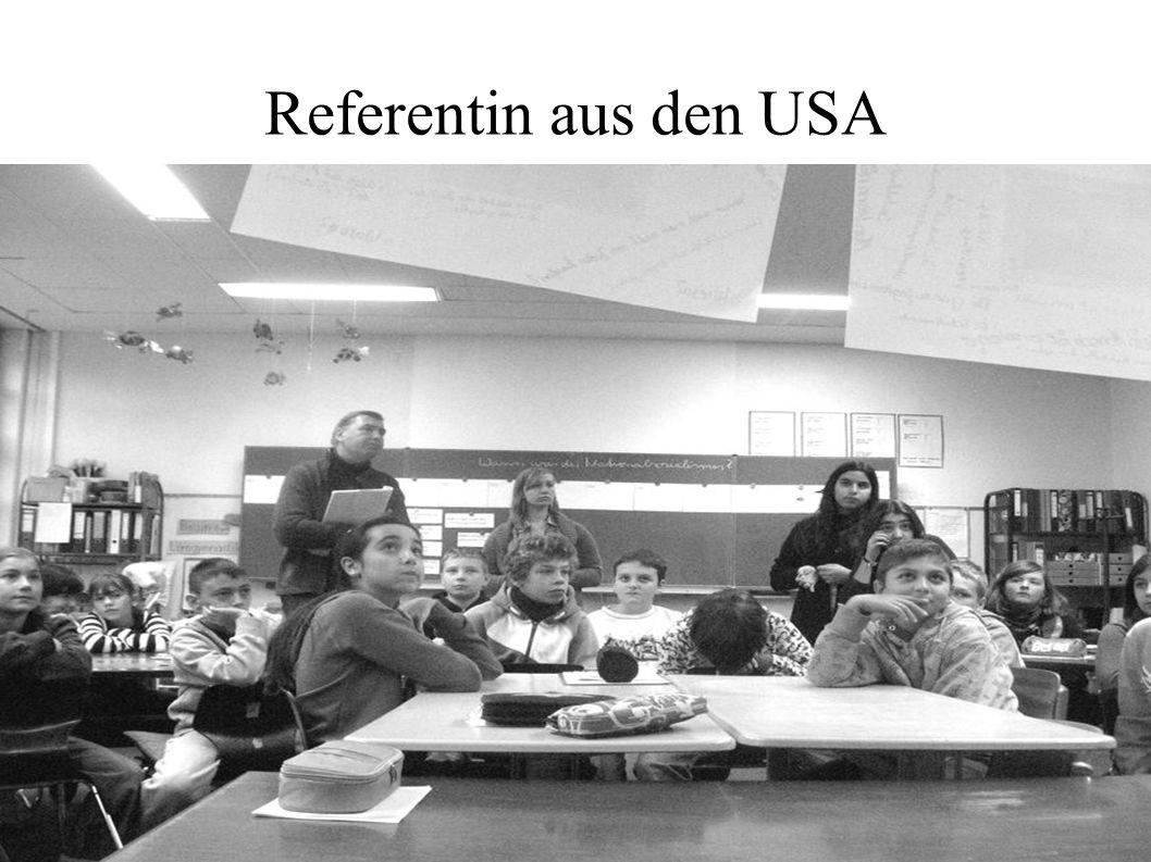 Referentin aus den USA