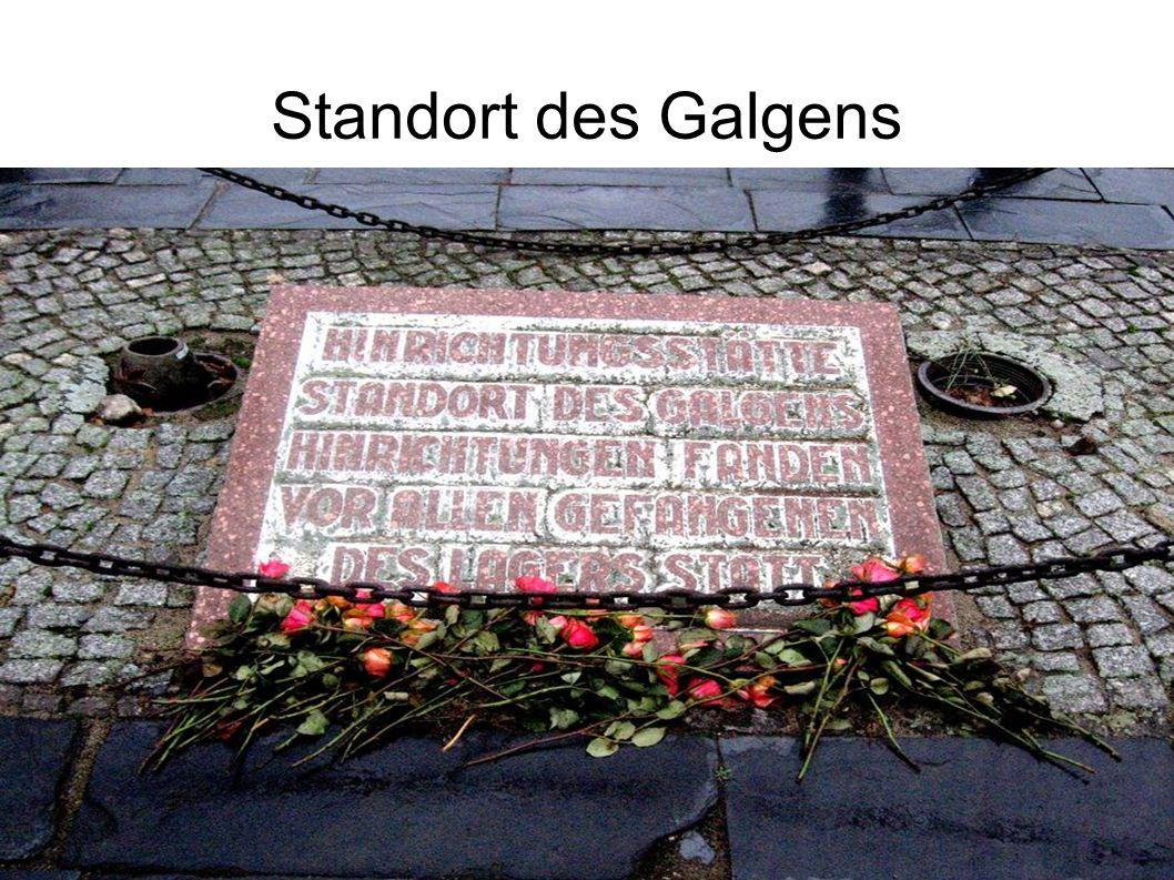 Standort des Galgens