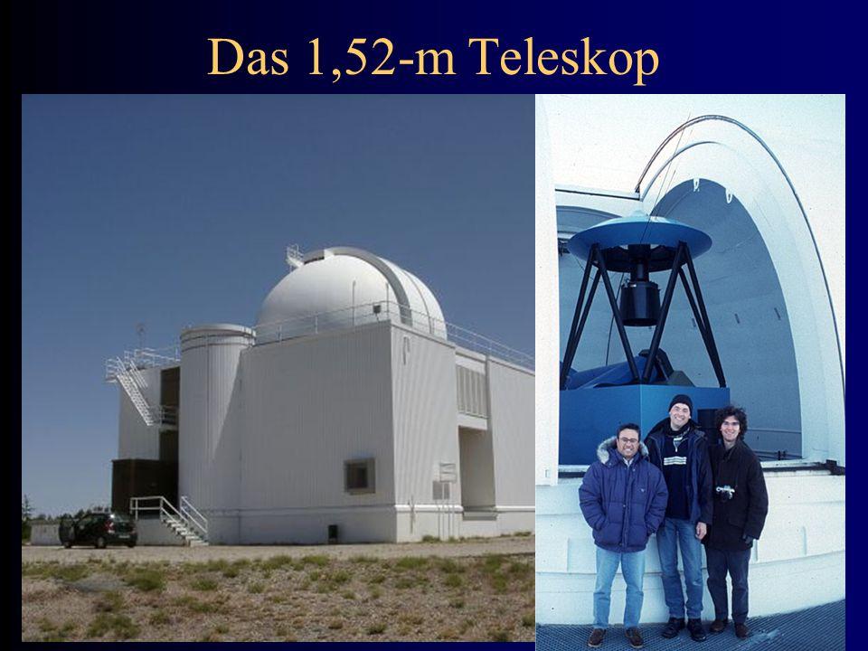 Das 1,52-m Teleskop