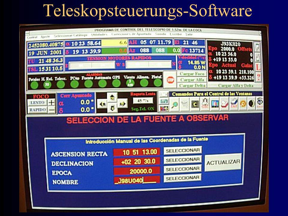Teleskopsteuerungs-Software