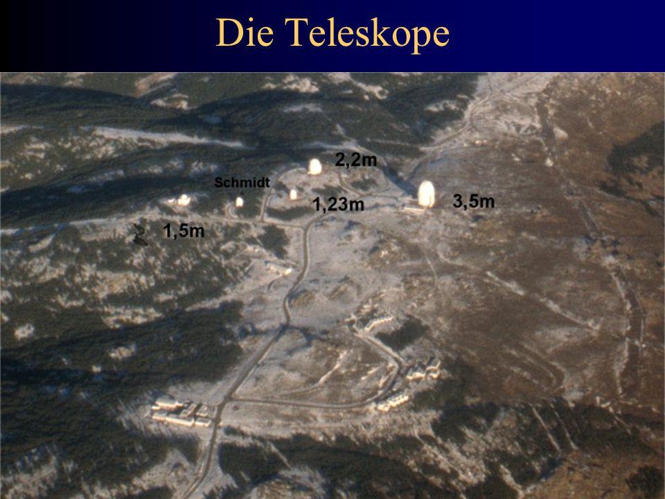Die Teleskope