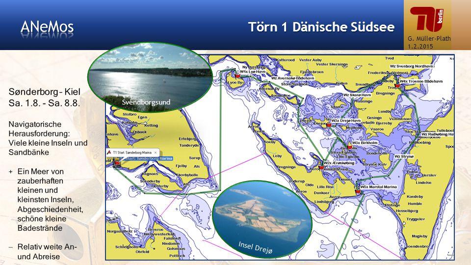 Törn 1 Dänische Südsee Insel Drejø Svendborgsund G. Müller-Plath 1.2.2015