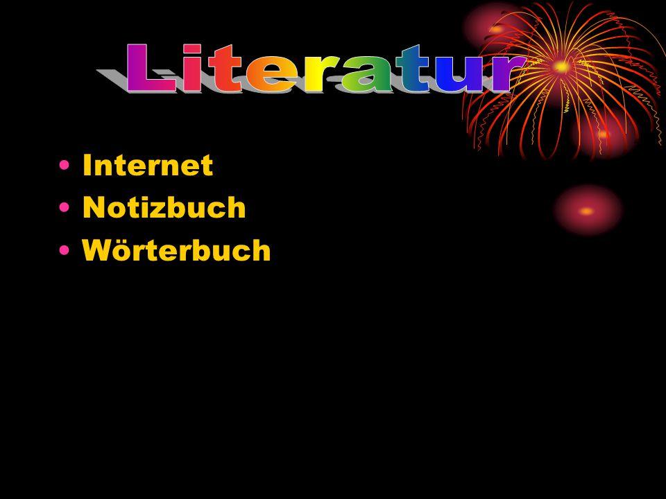 Internet Notizbuch Wörterbuch