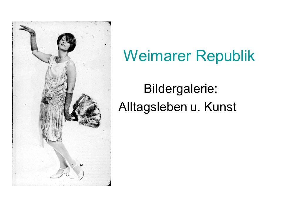 George Grosz: Grauer Tag (1921) Figuren im Bild Ihre angedeutete Rollen Farbkonstellation (Vergleiche mit expressionistischen Bildern?) Linien