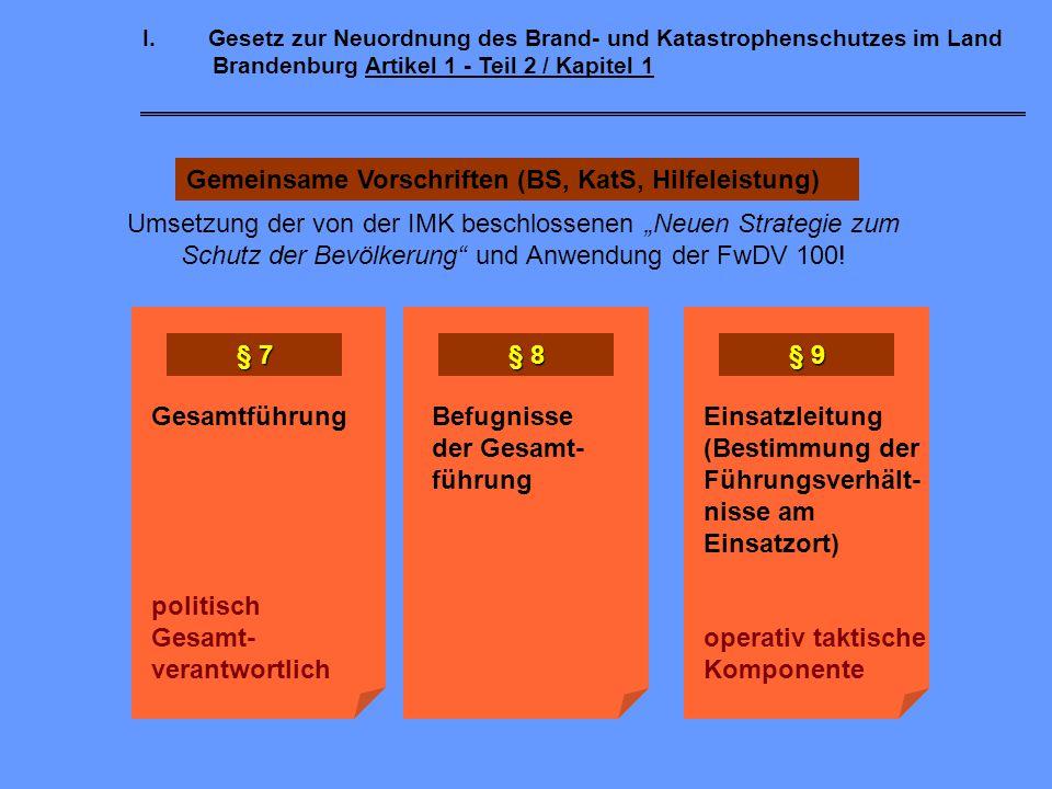 I.Gesetz zur Neuordnung des Brand- und Katastrophenschutzes im Land Brandenburg Artikel 1 - Teil 2 / Kapitel 1 Integrierte Leitstellen - § 10 Die krei