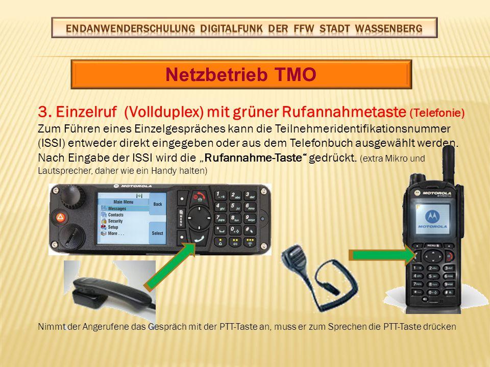 Netzbetrieb TMO 3.