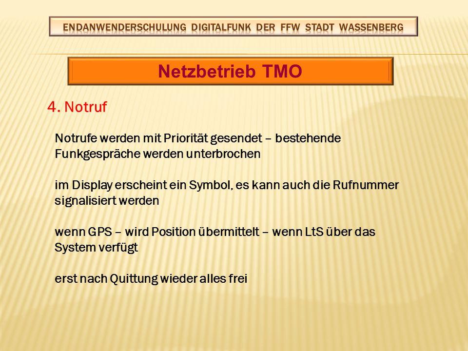 Netzbetrieb TMO 5.