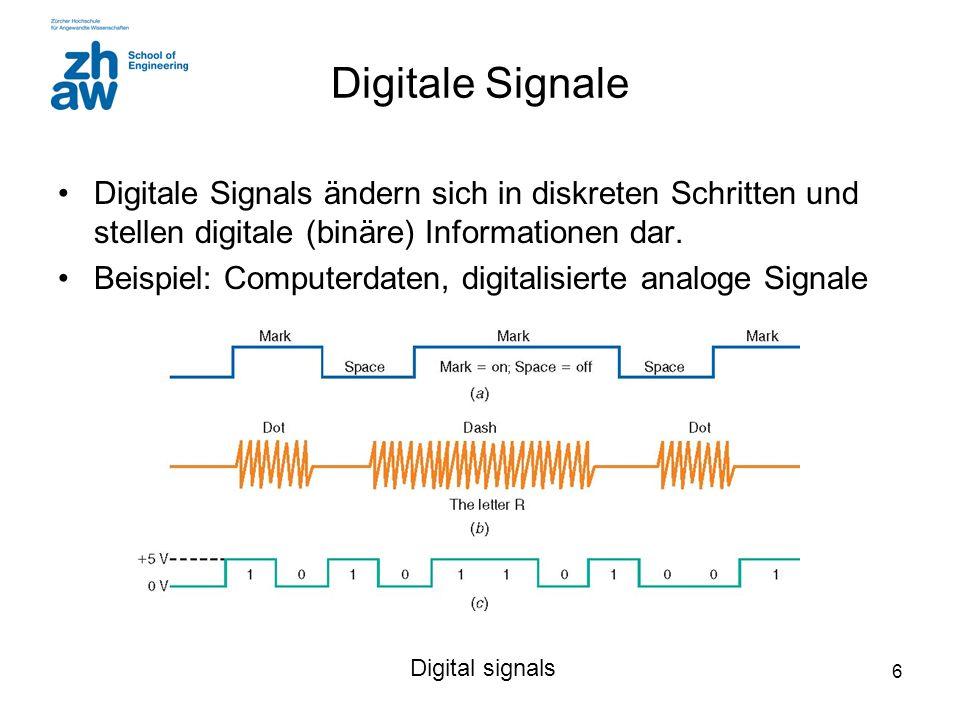 7 Warum Digitale Nachrichtentechnik .