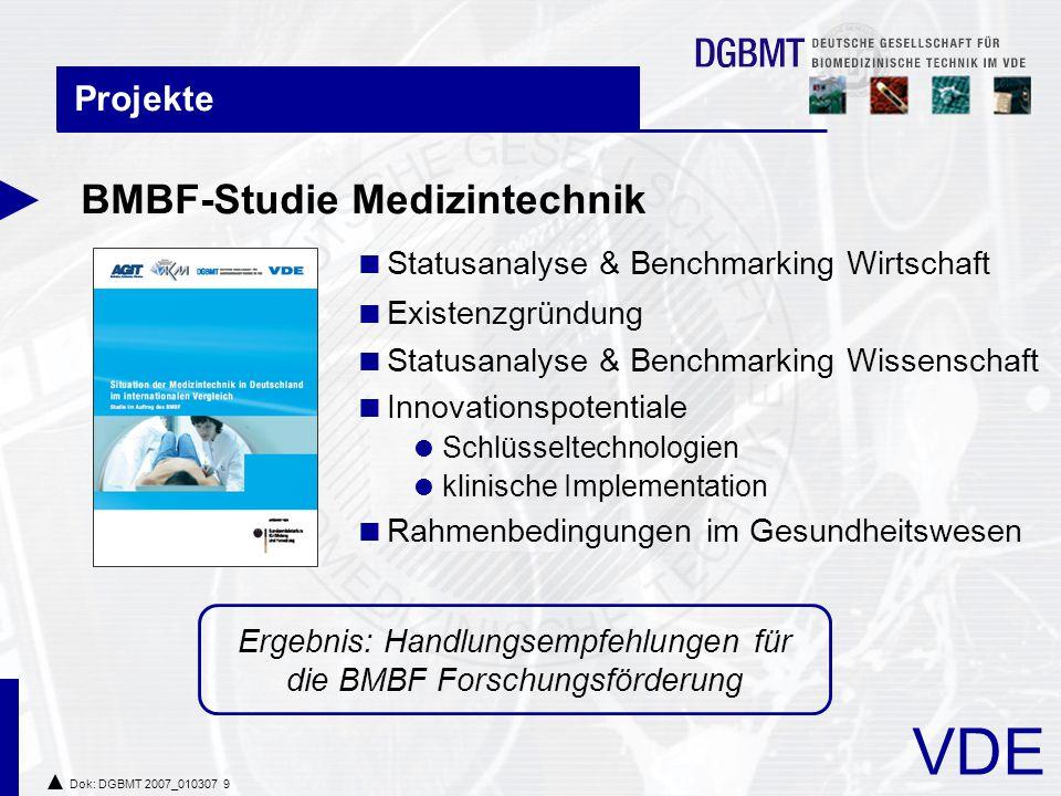 VDE Dok: DGBMT 2007_010307 20 Veranstaltungen  41.