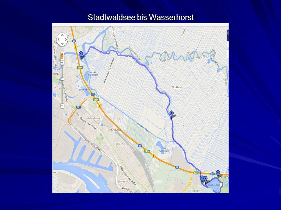 Wasserhorst bis Vegesack, Bahrsplate