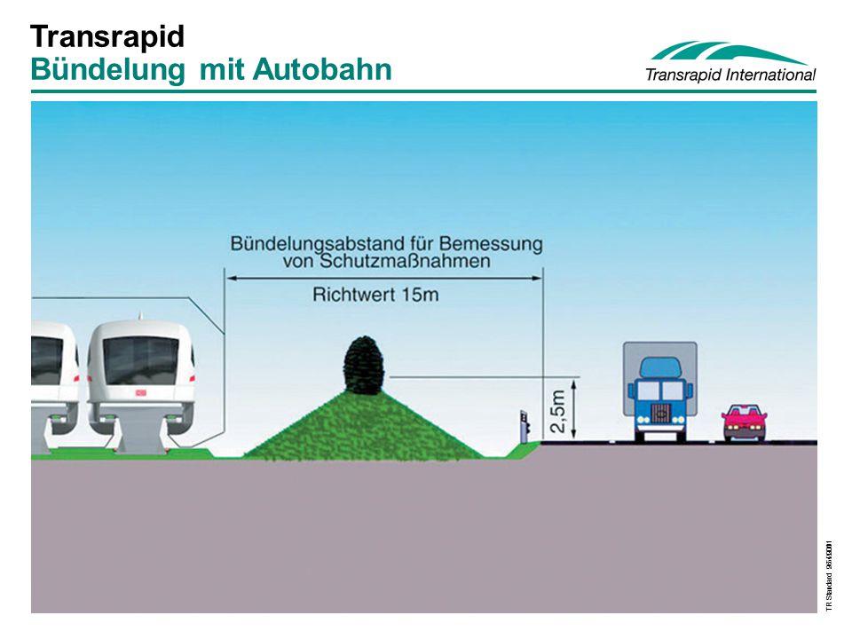 TR Standard 9.5.2001 Transrapid Bündelung mit Autobahn TR Standard 26.4.2001
