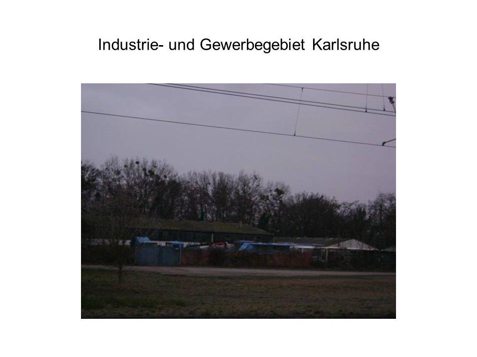 Industrie- und Gewerbegebiet Karlsruhe