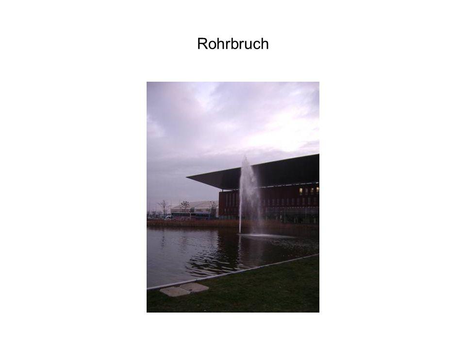 Rohrbruch