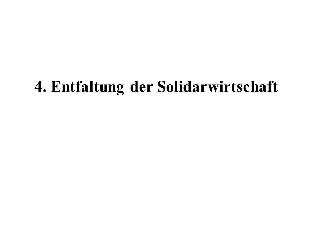 4. Entfaltung der Solidarwirtschaft