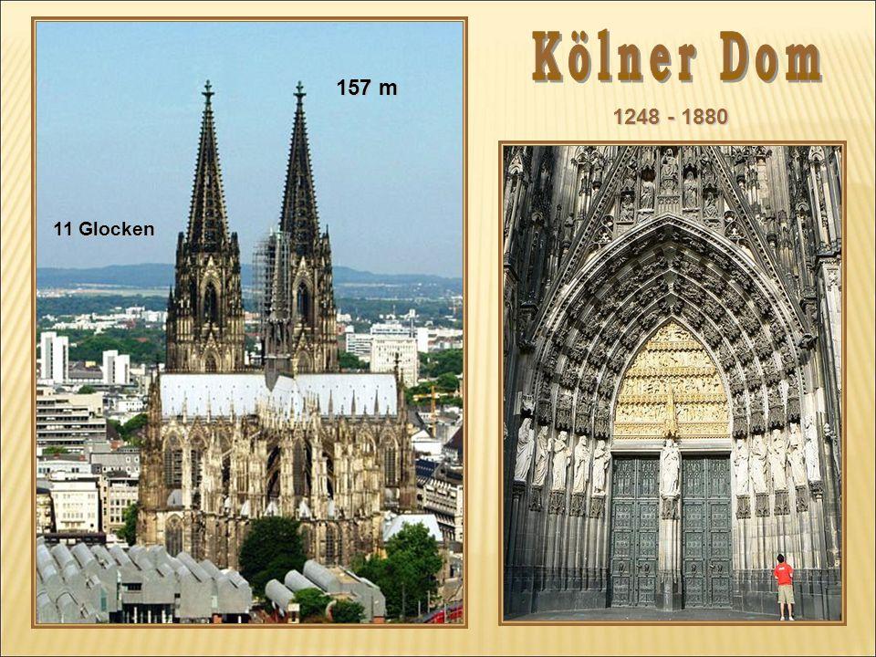 1248 - 1880 157 m 11 Glocken