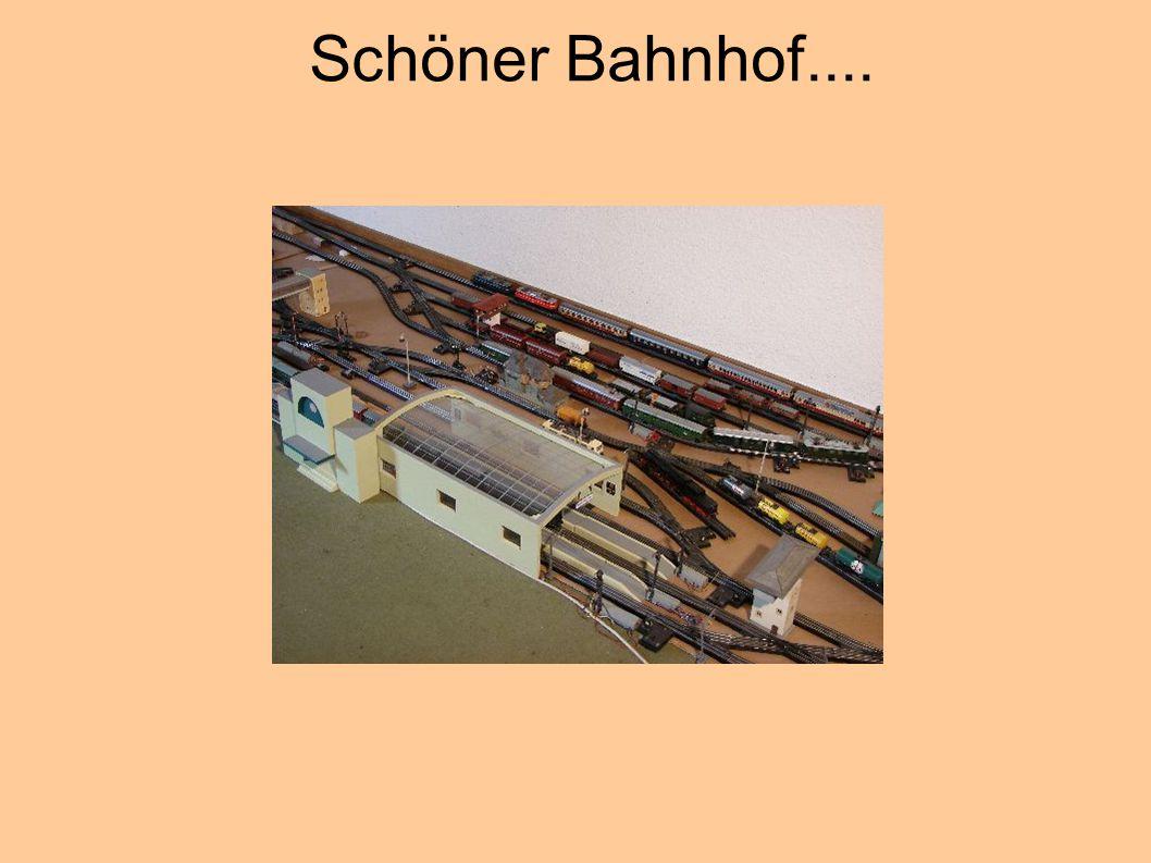 Schöner Bahnhof....