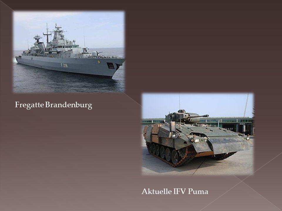 Fregatte Brandenburg Aktuelle IFV Puma