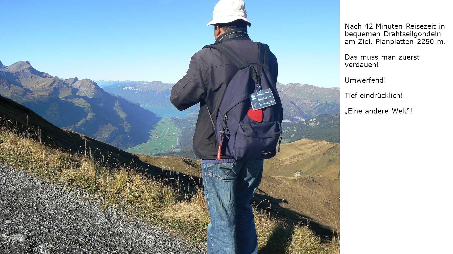 Alpen tower, das Ausflugsziel der Schweiz.