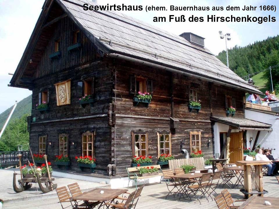 DerHirschenkogel ist ein Berg an der Grenze zwischen Niederösterreich und der Steiermark mit einer Höhe von 1340 m ü.