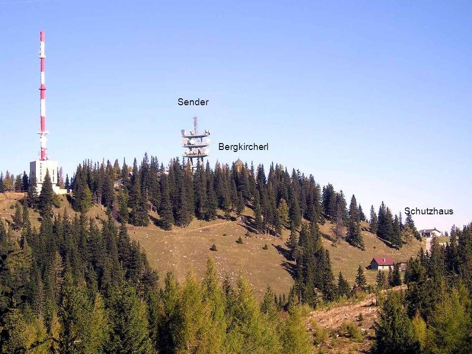 DerSonnwendstein der mit seiner Höhe von 1523 m ü.