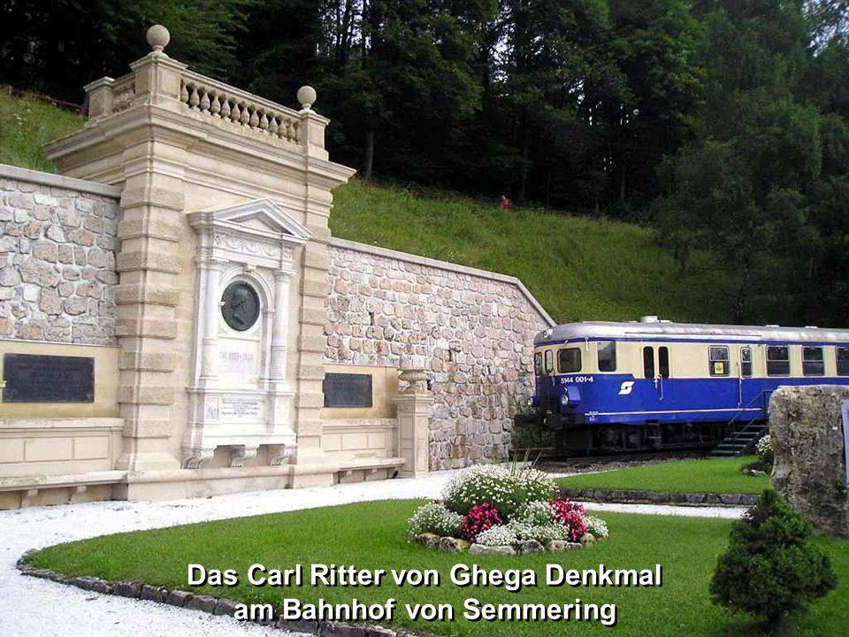Der Semmering Semmering-Pass oder kurz Semmering ist ein (984 m ü.A.) Gebirgspass zwischen der Rax im Norden und dem Wechselgebirge im Süden und bildet die natürliche Grenze zwischen Niederösterreich und der Steiermark.